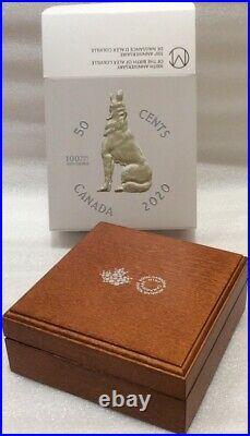 100th Birth Alex Colville 2020 Half-Dollar Masters Club 2OZ Silver 50-Cent Coin