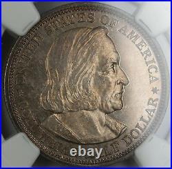 1893 Columbian Commemorative Half Dollar NGC UNC BU (PROOF)