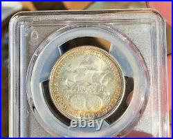 1893-P Columbian Silver Half Dollar Commemorative 50C PCGS MS 64 Awesome Color