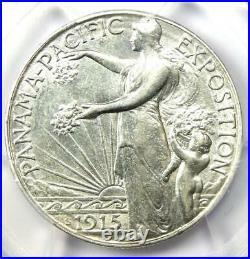 1915-S Panama Pacific Half Dollar 50C Coin Certified PCGS AU Details