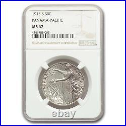 1915-S Panama Pacific Half Dollar MS-62 NGC SKU#170932