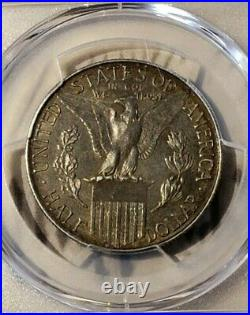 1915-S Panama Pacific Half Dollar PCGS AU55 Fresh from Grading Sweet Coin