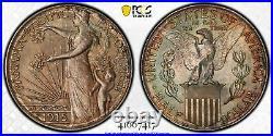 1915-s Panama-pacific Commemorative Silver Half Dollar 50c Pcgs Ms 64 Cac
