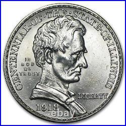 1918 Lincoln Commemorative Half Dollar BU SKU#88117