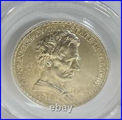 1918 Lincoln Commemorative Half Dollar PCGS 64