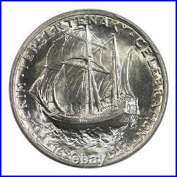 1920 Pilgrim Commemorative Silver Half Dollar PCGS MS66