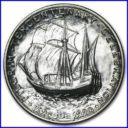 1920 Pilgrim Tercentenary Half Dollar BU SKU #5199