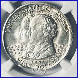 1921 Alabama Commemorative Silver Half Dollar- NGC MS 64 Mint State 64