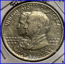 1921 Alabama Statehood Centennial Silver Bibb Kilby Commemorative Half Dollar