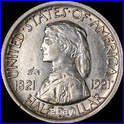1921 Missouri Commem Half Dollar 2x4 Nice BU Nice Eye Appeal Nice Strike