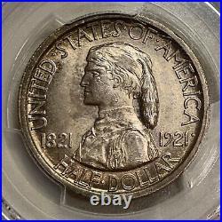 1921 Missouri Commemorative Half Dollar Pcgs Ms64