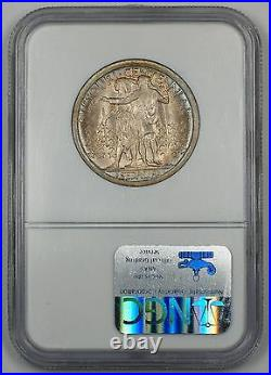 1921 Missouri Half Dollar Commemorative 24 NGC MS-65 Gem Coin Lightly Toned