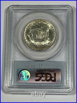 1921 PCGS MS64 Classic Commemorative Pilgrim Half Dollar with CAC Sticker