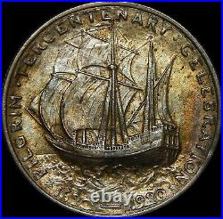 1921 Pilgrim Commemorative Half Dollar 99a