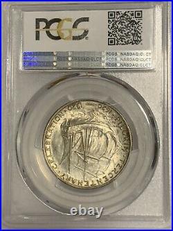 1921 Pilgrim Silver Half Dollar Commemorative PCGS MS66