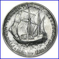 1921 Pilgrim Tercentenary Commemorative Half Dollar BU SKU#88790