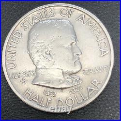 1922 Grant Half Dollar Commemorative 50c High Grade UNC #34034