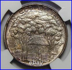 1922 Ngc Ms67 Grant/star Half Dollar Silver Commemorative