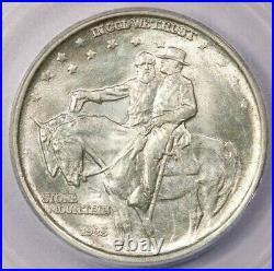 1925-P 1925 Stone Mountain Commemorative Half Dollar ICG MS65