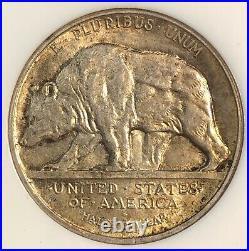 1925 S California Commemorative Half Dollar. NGC MS 63