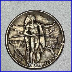 1926 Oregon Trail Commemorative Half Dollar Nice Detail