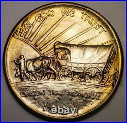1926 S Oregon Trail Commemorative Half Dollar US Silver Coin. 362