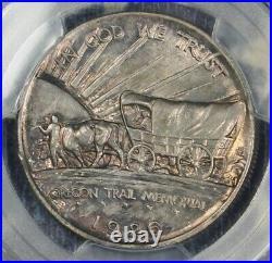 1926-s Oregon Silver Commemorative Half Dollar Coin Pcgs Ms64 Free Shipping