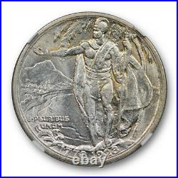 1928 Hawaii Silver Commemorative Half Dollar NGC MS 63 Uncirculated