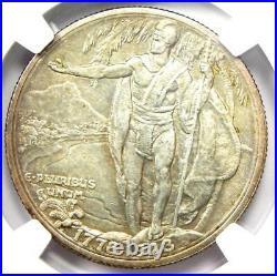 1928 Hawaiian Half Dollar 50C Coin Certified NGC Uncirculated Details (UNC MS)