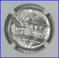 1933-D Oregon Trail Memorial Commemorative Silver Half Dollar NGC MS 65