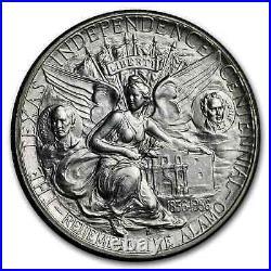 1934-1938 Texas Independence Centennial Half Dollar BU (Random) SKU#201327