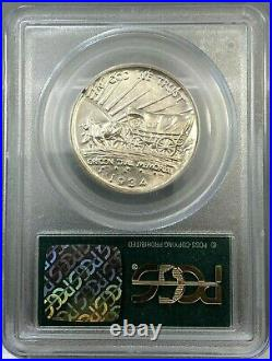 1934-D 50c Oregon Commemorative Half Dollar PCGS MS63 Old Green Holder (OGH)