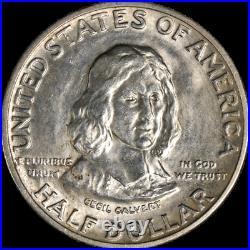 1934 Maryland Commem Half Dollar BU Great Eye Appeal Nice Strike