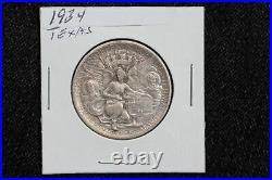 1934 Texas Alamo Centennial Commemorative Half Dollar 19UJ