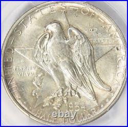 1934 Texas Silver Commemorative Half Dollar PCGS MS-65 Mint State 65