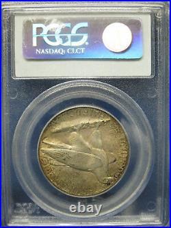 1935 50C CONNECTICUT Silver Commemorative Half Dollar PCGS MS65