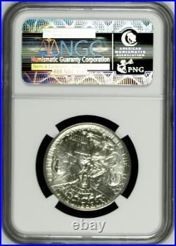 1935 50C Texas Commemorative Silver Half Dollar NGC MS 65 Free Shipping