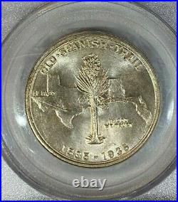 1935 50c Spanish Trail Commemorative Half Dollar PCGS MS65 Stunning Specimen