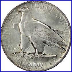 1935 Connecticut Commemorative Half Dollar AU About Uncirculated 90% Silver 50c