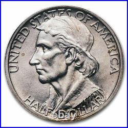 1935 Daniel Boone Bicentennial Half Dollar MS-64 NGC SKU#178869