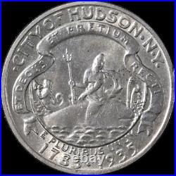 1935 Hudson Commem Half Dollar Choice BU Great Eye Appeal Nice Strike