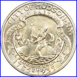 1935 Hudson Commemorative Half Dollar Uncirculated, Choice