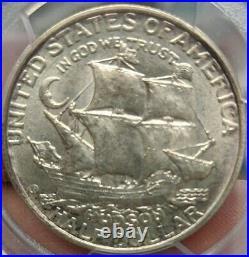 1935 PCGS MS64 Hudson Silver Commemorative Half Dollar. FREE SHIPPING