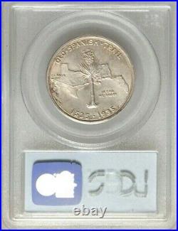 1935 PCGS MS66 Silver SPANISH TRAIL Commemorative Half Dollar 50c $1,350++