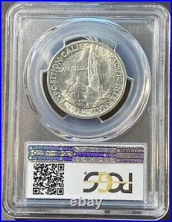 1935-S San Diego Commemorative Half Dollar-PCGS MS65