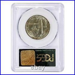 1935-S San Diego Half Dollar 90% Silver Commem PCGS MS 66