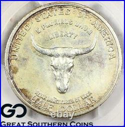 1935 Spanish Trail Commemorative Half Dollar PCGS MS 67+ Key Date, Tough