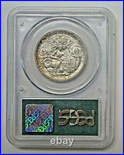 1935 TEXAS Independence Commemorative Half Dollar PCGS MS64 OLD GREEN Holder
