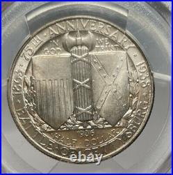 1936 50c PCGS MS 67 CAC Gettysburg Commemorative Half Dollar