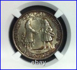 1936 Albany Commemorative Silver Half Dollar NGC MS 65
